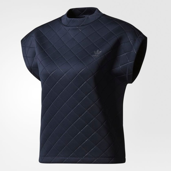 Adidas Originals Diamond repujados Tee poshmark tops NWT